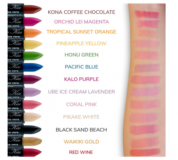 Magic Kiss' Color Changing Matte Lipstick