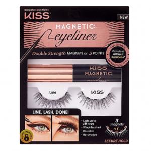 Kiss Magnetic Eyeliner & Lure Lash Kit
