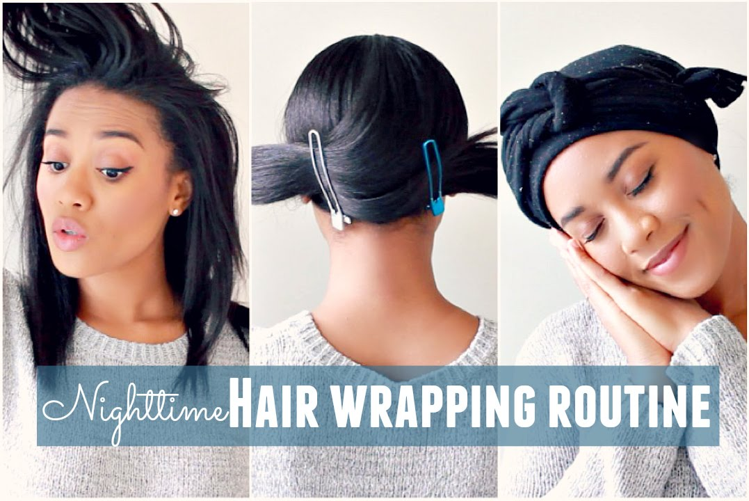straight hair routine