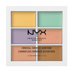 NYX PROFESSIONAL MAKEUP Color Correcting Concealer Palette