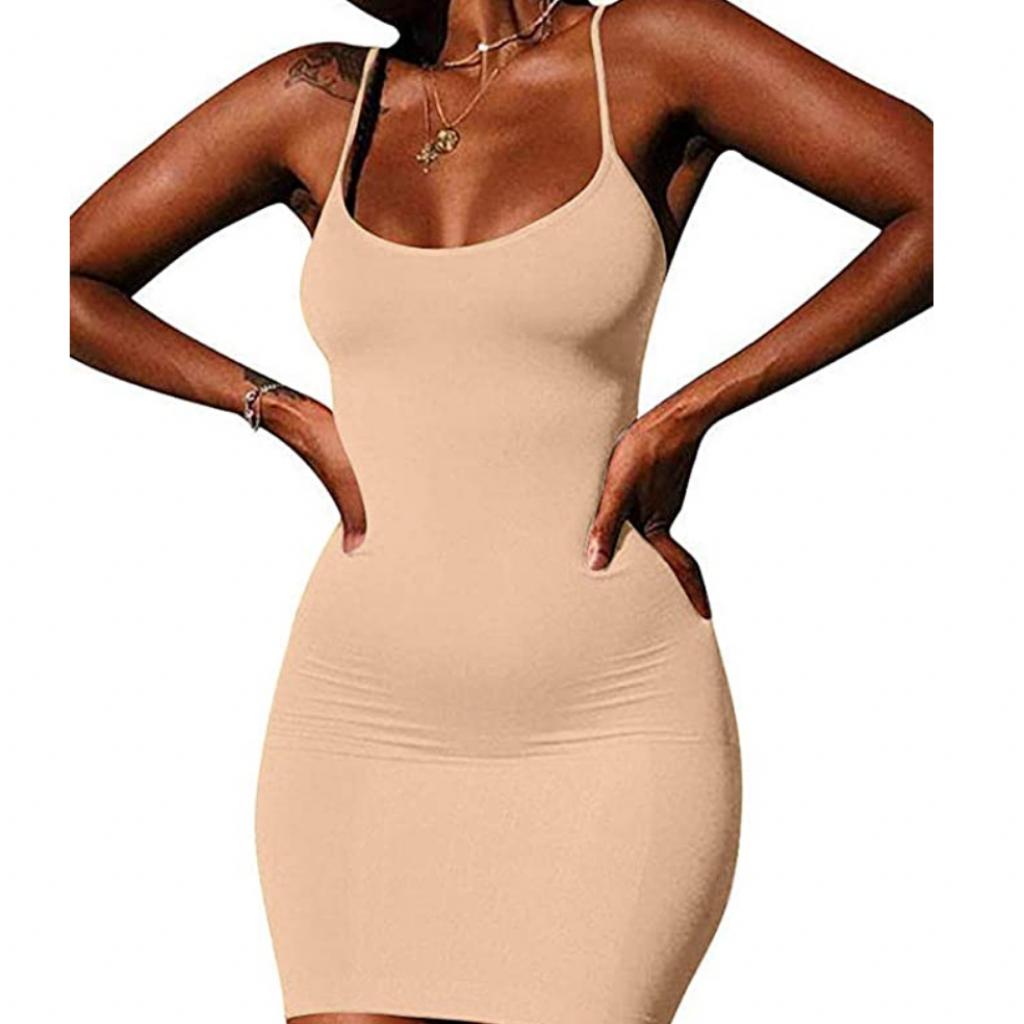 LCNBA Sexy Spaghetti Strap Tank Dress
