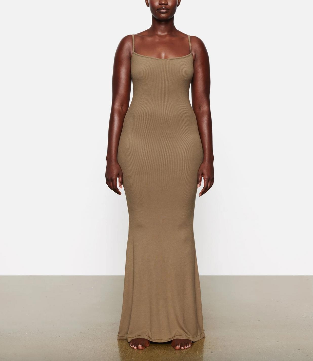 SKIMS Soft Lounge Long Slip Dress