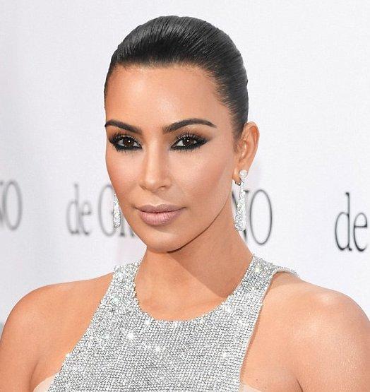 Kim Kardashian reverse winged liner