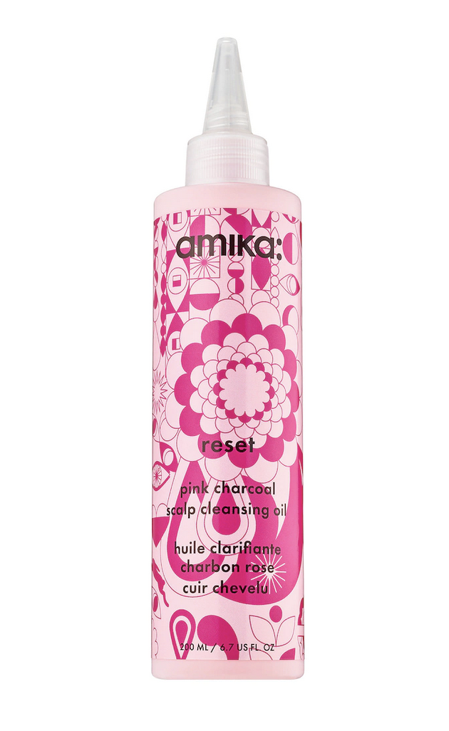 amika Reset Charcoal Detoxifying Scalp Cleansing Oil