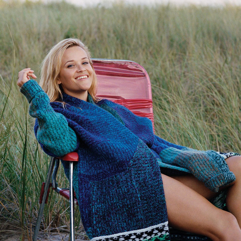 BURBERRY-Oversized-patchwork-cashmere-blend-cardigan-reese-witherspoon