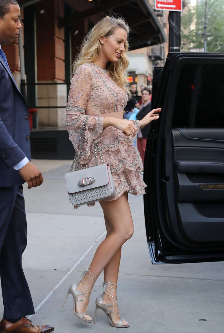 Blake Lively Sexy Celebrity Legs Gallery