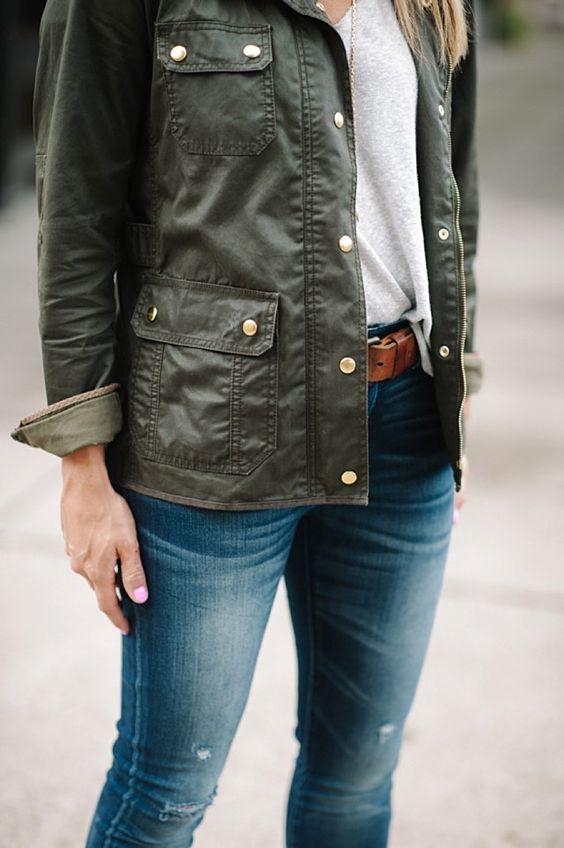 celebrity-style-jcrew-waxed-field-jacket
