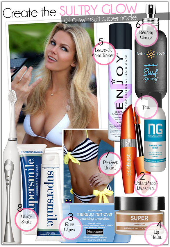 Create The Sultry Glow of a Swimsuit Supermodel