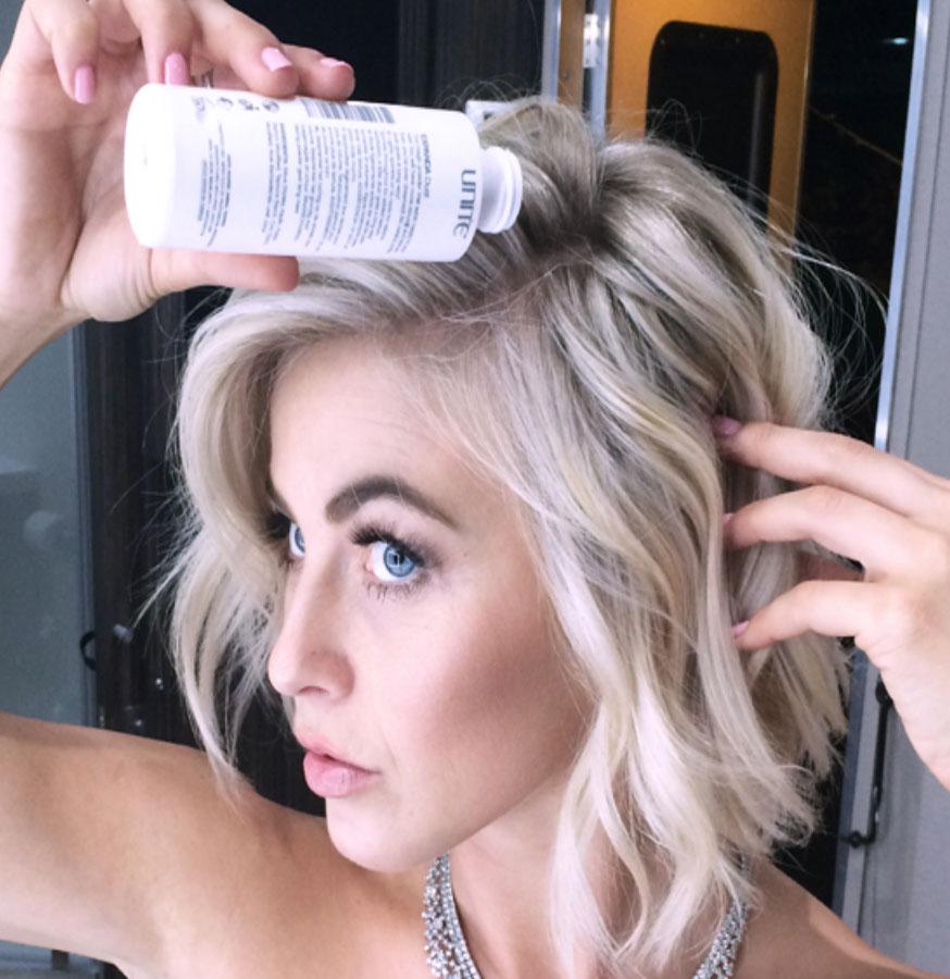 julianne hough dry shampoo
