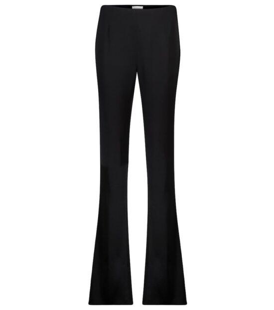 Galvan High-Rise Satin Straight Pants