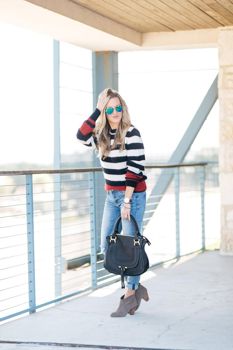 heather-iro-stripe-sweater-hair