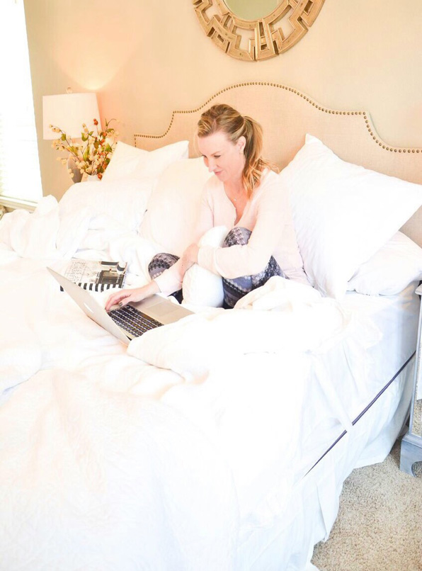Heather-Working-in-bed