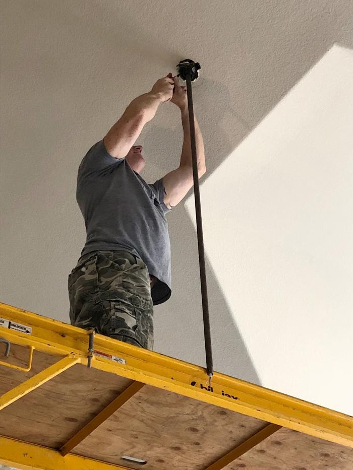 Hunter-Apache-Ceiling-Fan-install