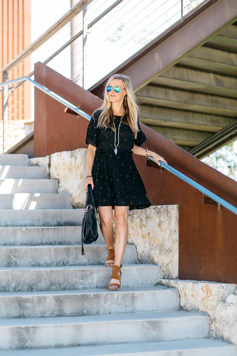 iro-black-flutter-dress