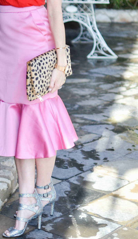 J-crew-pink-satin-skirt-sjp-sandals