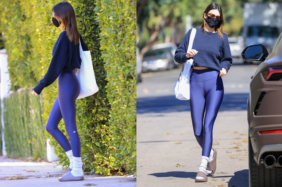 Kendall Jenner in Alo Yoga