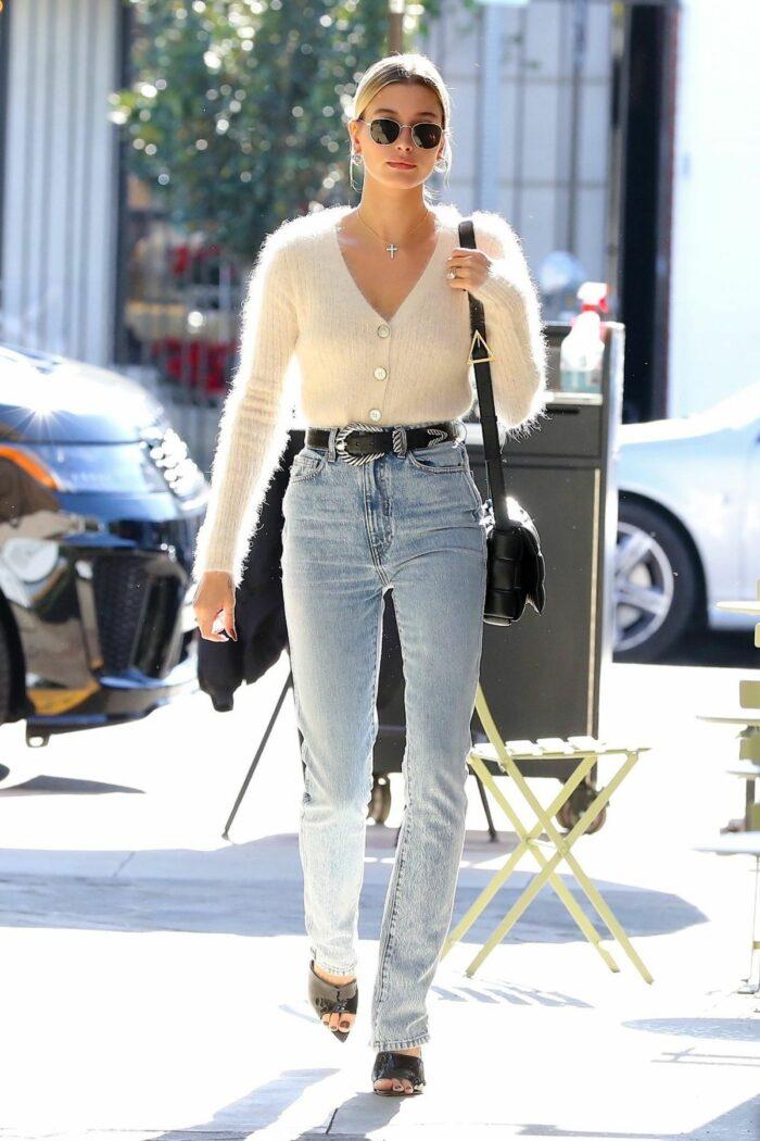 Khaite Daria high rise slim-leg jeans