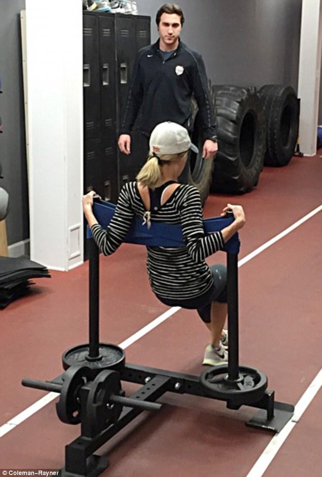 Kristin Cavallari Total-Leg Workout