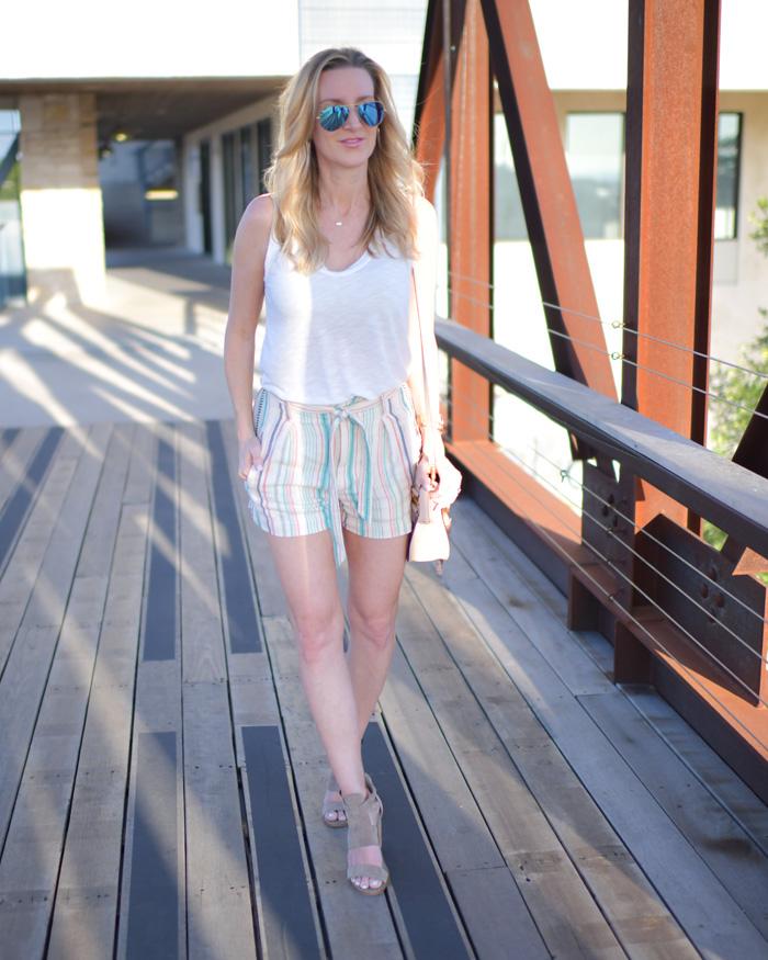 La-Paz-Striped-Twill-Short-splendid-tied-waist