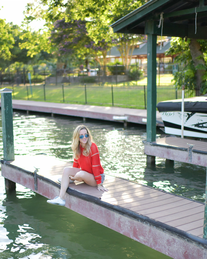 Summer Holiday Outfit By The Lake