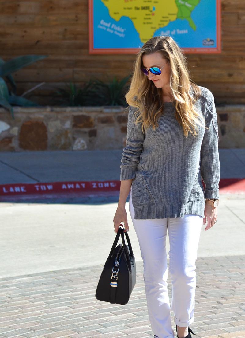 michael-stars-side-vent-grey-sweater