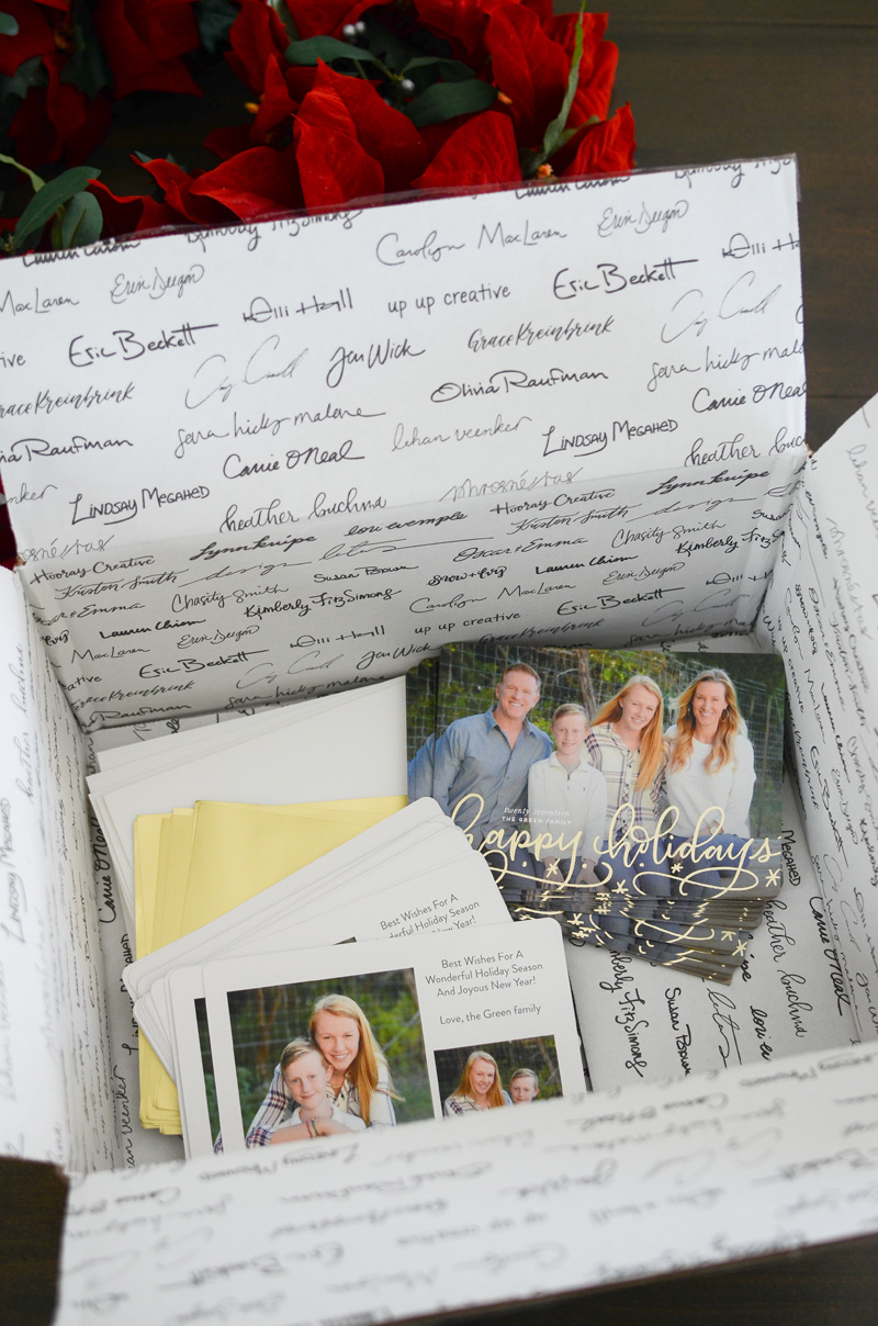 Minted-holiday-cards-box