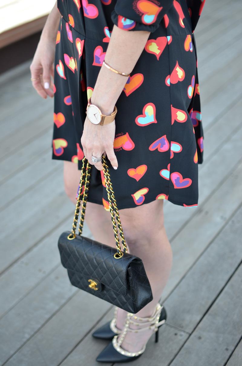 Moschono-hearts-chanel-bag