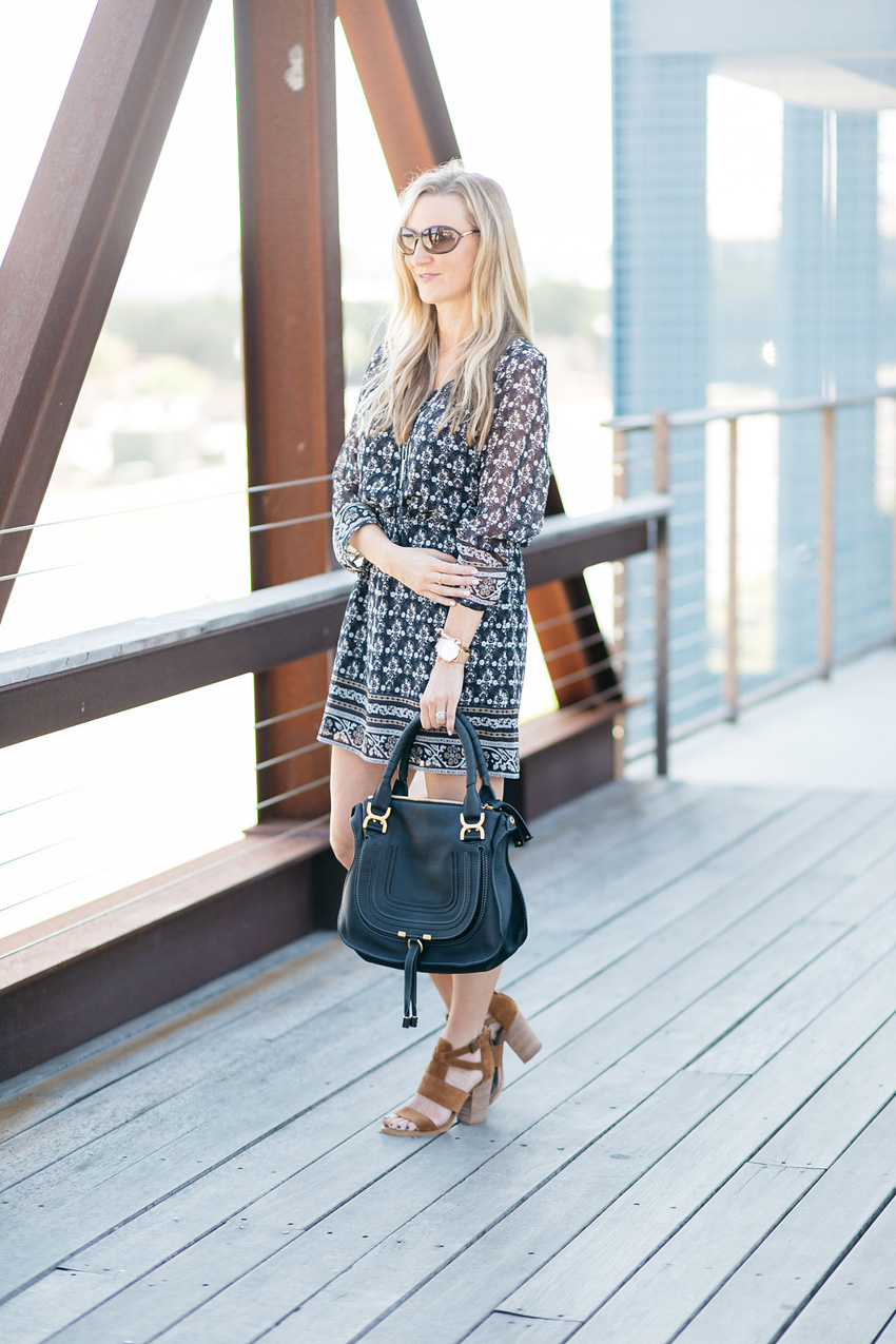 net-a-porter-sale-celebrity-style-madewell-shirred-printed-georgette-mini-dress