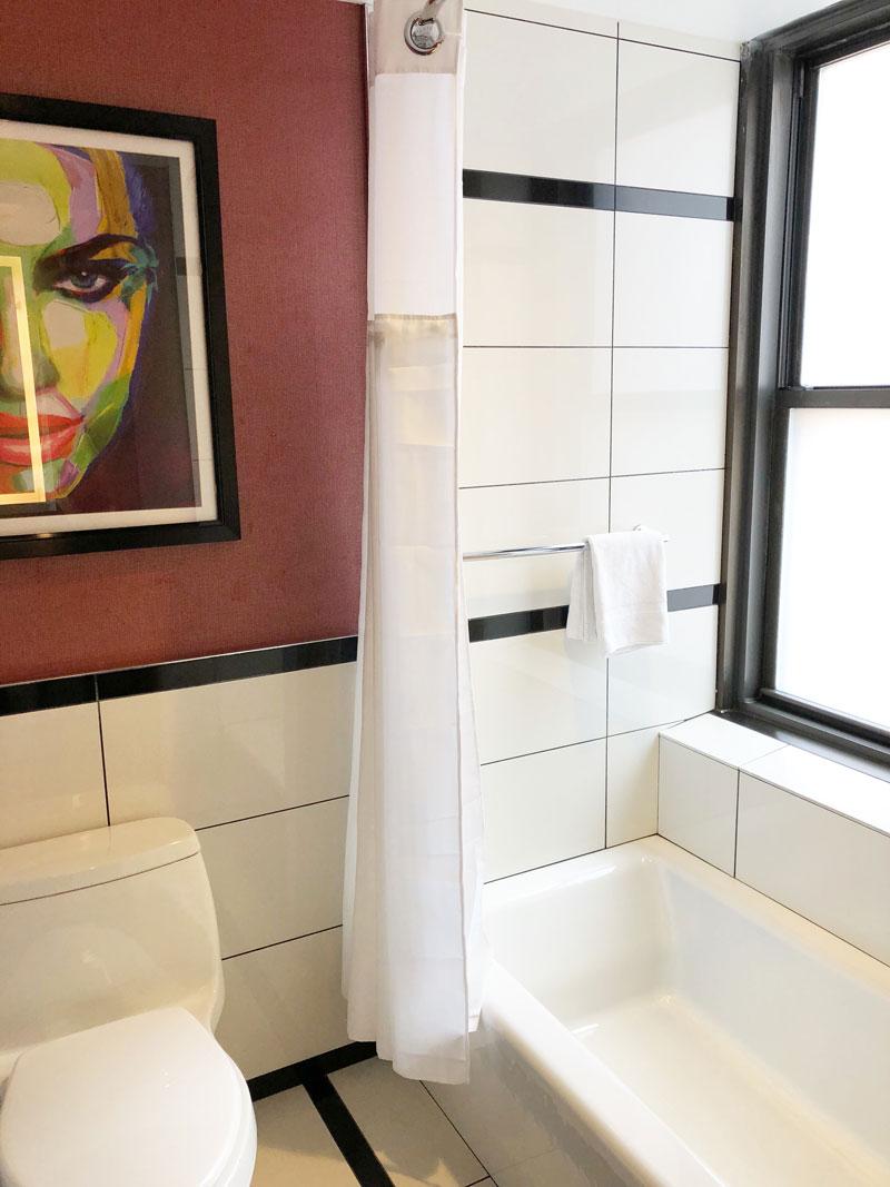 Park Central Hotel New York Bathroom
