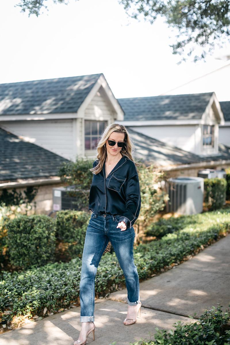 RAG-and-BONE-Hahn-silk-satin-shirt-jeans