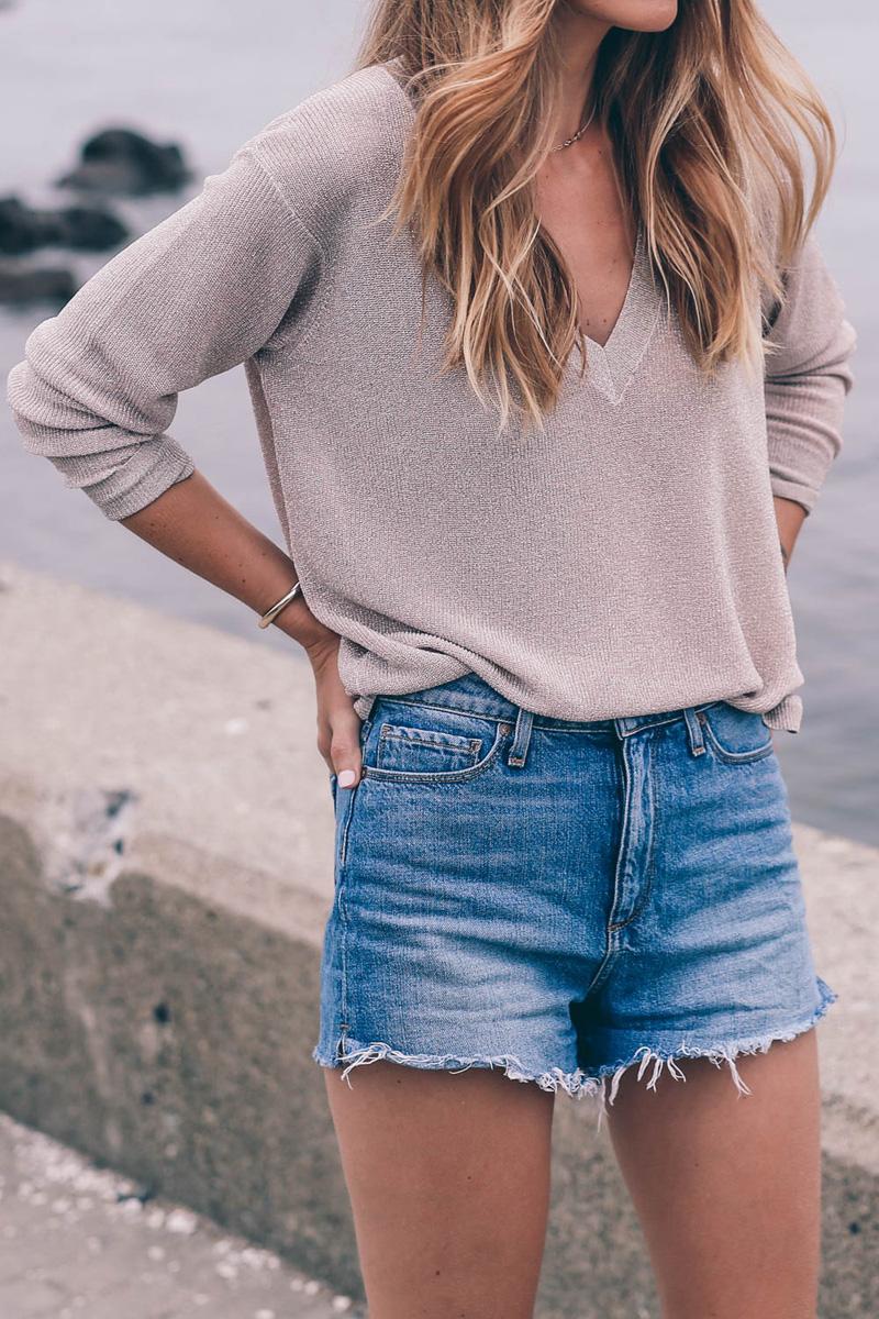 Reiss-metallic-sweater-paige-cutoffs