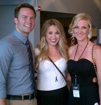 Meeting Scott Porter and Kelsey Mayfield