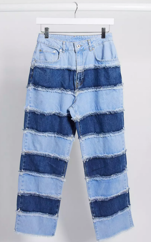 The Ragged Priest mom jeans, Asos