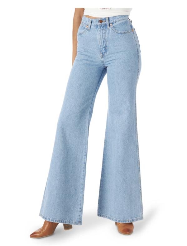 Wrangler Wanderer Heritage Flare High Waist Jeans