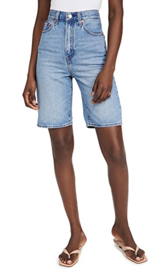 Levi's High Loose Bermuda Shorts