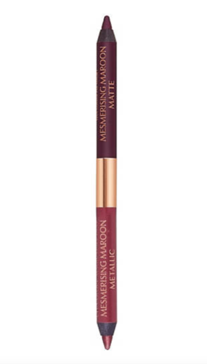 Charlotte Tilbury's Eye Color Magic Liner Duo in mesmerizing maroon