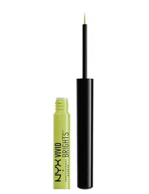 NYX Vivid Brights Color Liquid Eyeliner in Lime Green
