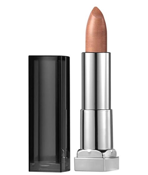 Maybelline Color Sensational Gold Lipstick Metallic Lipstick, White Gold