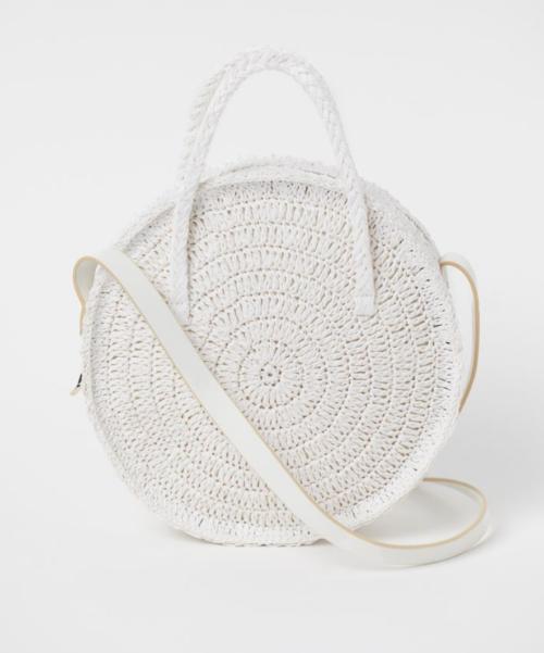 H&M's Round Straw bag