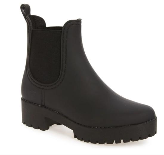 Jeffrey Cambell Cloudy Waterproof Chelsea Rain Boot