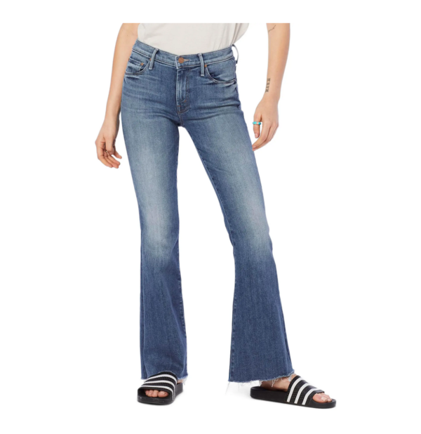 Mother, Frayed Flare Jeans