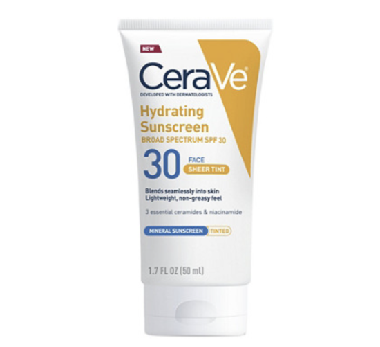 Cerave Tinted Sunscreen