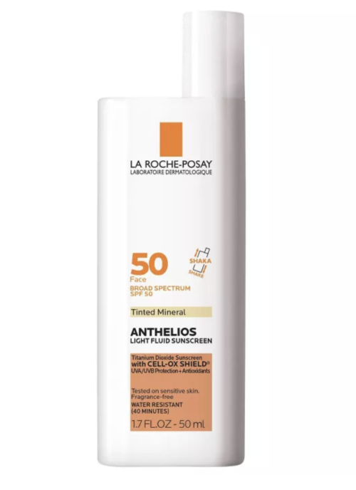 Anthelios Mineral Tinted Ultra Light Sunscreen Fluid SPF 50