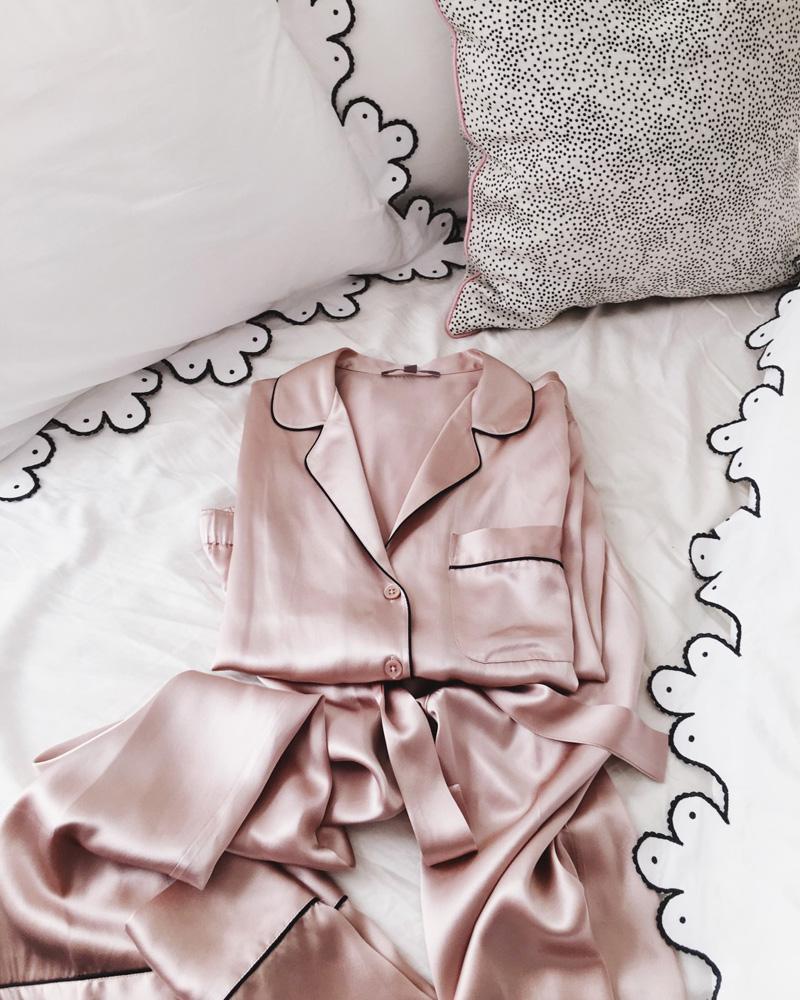 Silky-pink-pajamas