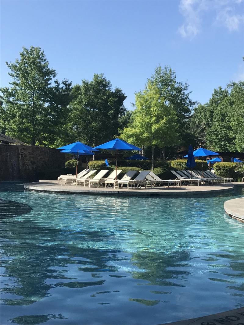 The-Woodlands-Resort-pool-waterslide