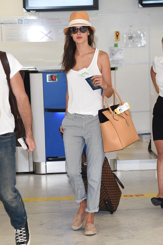 Travel fashionably-The best celebrity airport style