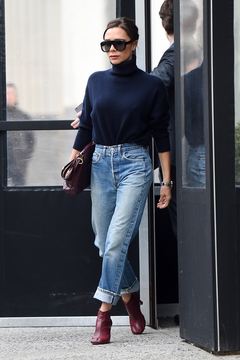 Victoria-Beckham-and-son-Brooklyn-step-out-in-NYC