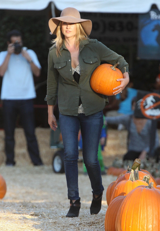 Celebrity Pumpkin Patch Style