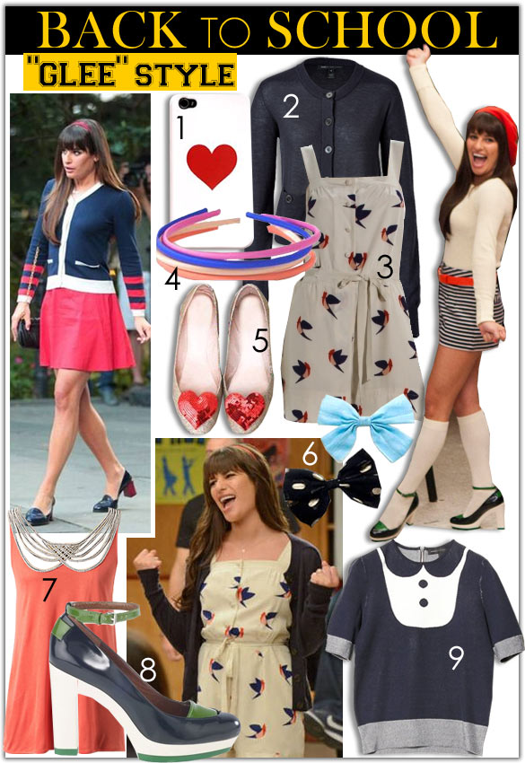 Fashion from Glee: How to Dress Like Your Favorite Glee Girl. Glee Fashion and Style what they wore on the show!