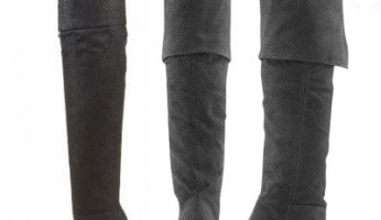 This Season's Must-Have: Twelfth Street by Cynthia Vincent Lindy Boots in Black